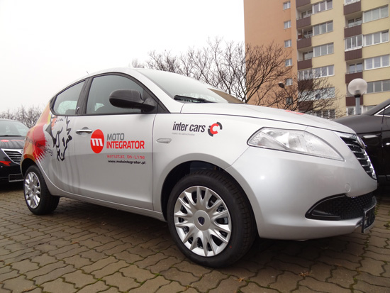 Lancia Ypsilon dla Inter Cars